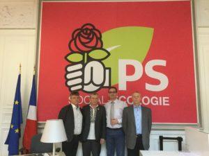 Зустріч Соціал-демократичної партії із радником Партії Європейських Соціалістів